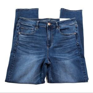 NWT American Eagle Hi-Rise Skinny Jeans SHORT 1218